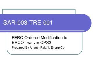 SAR-003-TRE-001