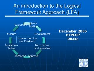 An introduction to the Logical Framework Approach (LFA)