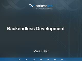 Backendless Development
