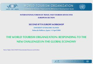 INTERNATIONAL FORUM OF TRAVEL AND TOURISM ADVOCATES EUROPEAN SECTION