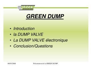 GREEN DUMP