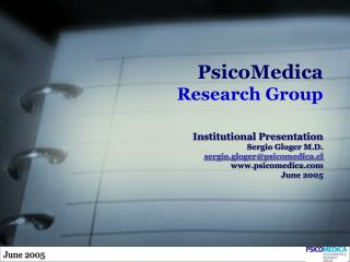 PsicoMedica Research Group
