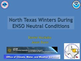 North Texas Winters During ENSO Neutral Conditions