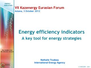 VII Kazenergy Eurasian Forum Astana, 3 October 2012