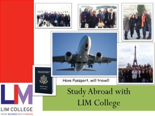 Study Abroad with  LIM College