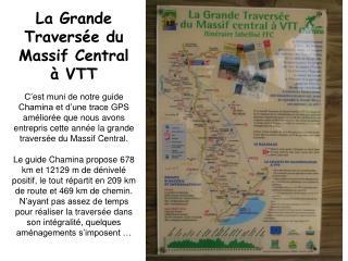 La Grande Traversée du Massif Central à VTT