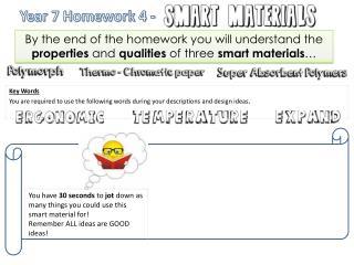 Year 7 Homework 4 -