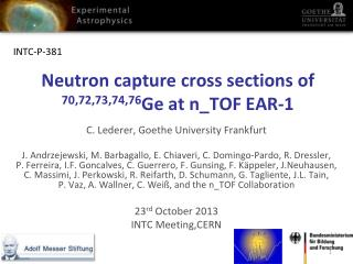 Neutron capture cross sections of  70,72,73,74,76 Ge at  n_TOF  EAR-1