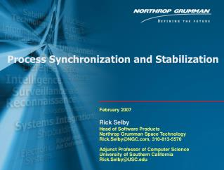Process Synchronization and Stabilization
