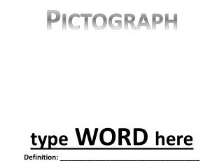 t ype  WORD  here Definition: ____________________________________