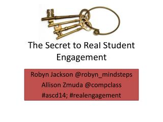 The Secret to Real Student Engagement