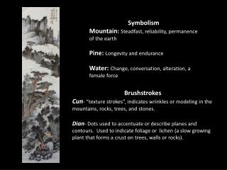 Symbolism Mountain :  Steadfast, reliability, permanence of the earth