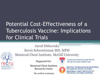 Potential Cost-Effectiveness of a Tuberculosis Vaccine: Implications for Clinical Trials