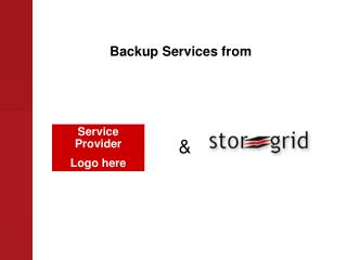 Backup Services from