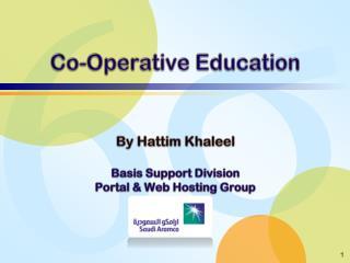 Co-Operative Education