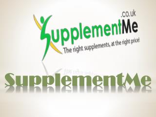 Choose the right supplement for your health and wellness