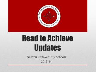 Read to Achieve Updates