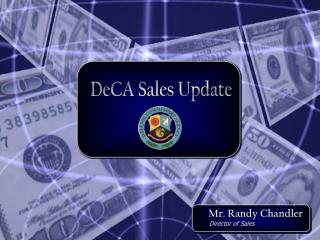 DeCA Sales Update