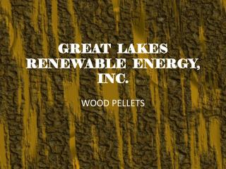 GREAT  LAKES RENEWABLE  ENERGY, INC.