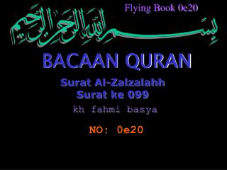 Surat Al-Zalzalahh Surat ke 099