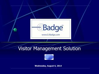 Visitor Management Solution