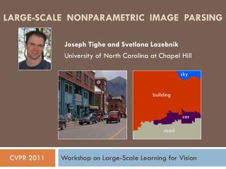 Large-Scale  Nonparametric  Image  Parsing