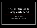 Social Studies In Early childhood
