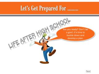 Let�s Get Prepared For ��..