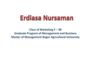 Erdiasa Nursaman