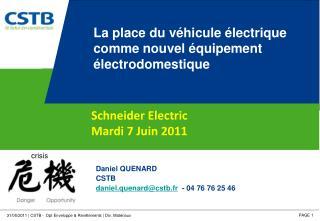 La place du véhicule électrique comme nouvel équipement électrodomestique