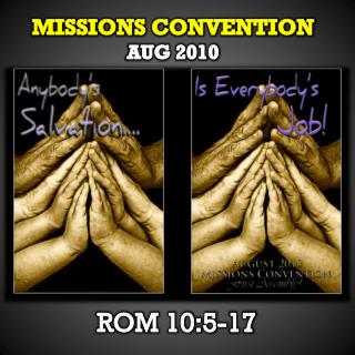 Missions Convention AuG  2010