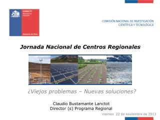 Jornada Nacional de Centros Regionales
