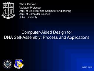 Computer-Aided Design for  DNA Self-Assembly: Process and Applications