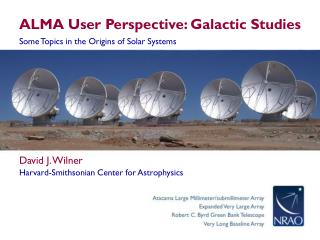 ALMA User Perspective: Galactic Studies