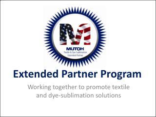 Extended Partner Program