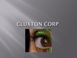 CLUXTON  CORP .
