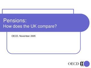 Pensions: How does the UK compare