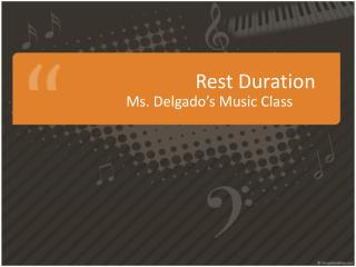 Rest  Duration