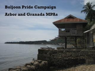 Boljoon  Pride Campaign Arbor and Granada MPAs