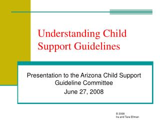 Understanding Child Support Guidelines