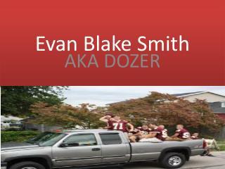 Evan Blake Smith