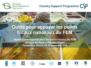 Atelier sous-régional pour les points focaux du FEM Afrique du Nord et Moyen-Orient