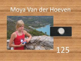 Moya Van der Hoeven