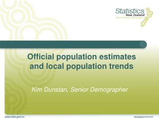 Official population estimates and local population trends
