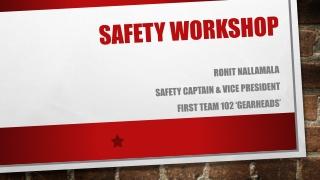 Large Spark-Ignited Workshop