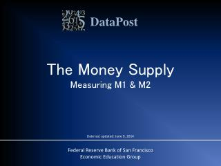 The Money Supply Measuring M1 & M2
