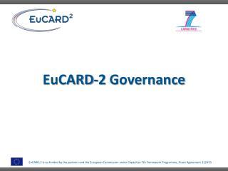 EuCARD -2  Governance