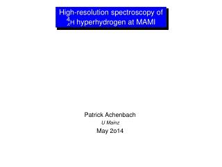 High-resolution  spectroscopy of  hyperhydrogen at MAMI