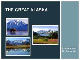 The great Alaska