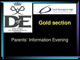 Parents� Information Evening